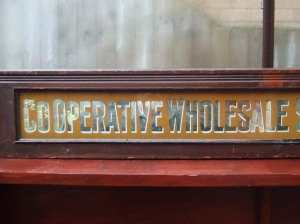 C.W.S Crumpsall Biscuit Works sign. Courtesy A. Hiscutt .