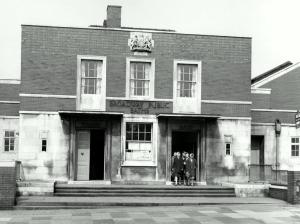 Broadway Baths in 1952. Courtesy P. Stanley.