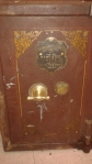 Withy Grove Stores Ltd Brass safe plate in situ. Image courtesy B. Kirk.
