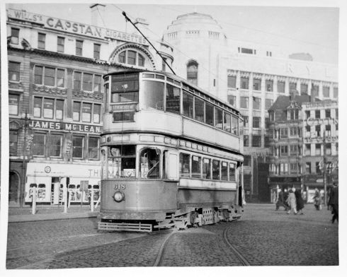 Tram 618 in Piccadilly. Image courtesy D. Boothman.